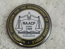 """New listing Naacp Founded 1909 ~ 2-1/4"""" Button Pinback Pin (B53)"""