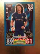 Match Attax Season 17/18 Chelsea #79 David Luiz