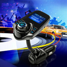 Wireless In-Car FM Transmitter MP3 Radio Adapter Car Kit USB Smart Power Charger