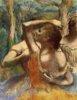 Ballet Dancers Edgar Degas Ballerina Print Wall Art Print CANVAS Giclee Small