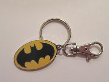 Batman Keychain Bat Signal Backpack Charm Zipper Pull Lobster Claw