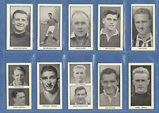 D.C. THOMSON & CO. LTD. -  RARE SET OF 64  WORLD  CUP  FOOTBALLERS  CARDS - 1958