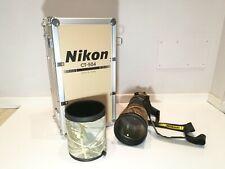 Nikon AF-S NIKKOR 500mm f/4 G ED VR Obbietivo + lens coat neoprene