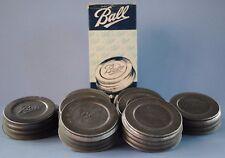 Vtg ONE BALL PORCELAIN~LINED ZINC CAP/LID ~ REGULAR~MOUTH Mason Canning Jar NOS