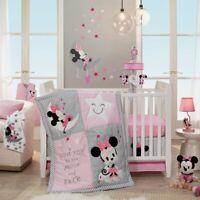 Lambs & Ivy Disney Minnie Mouse Baby Nursery Crib Bedding CHOOSE 4 5 6 7 PC Set