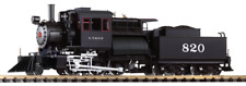 PIKO 38243, G Scale, 2-6-0 Santa Fe ATSF Camelback Locomotive, DCC & Sound