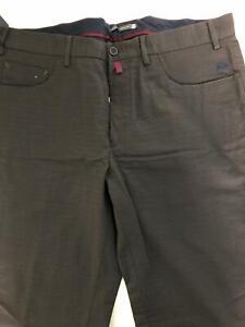 Pantaloni Uomo Mason's Colore Marrone Con Stampe Taglia 50