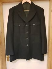 Vintage 1930s 1940s Mens Back Belted Jacket Norfolk