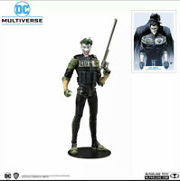 "DC Comics Multiverse McFarlane Toys The Joker Batman White Knight 7"" Figure New"