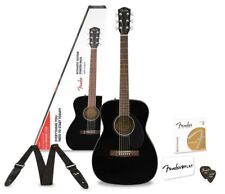 Fender CC-60S Concert Acoustic Guitar with Fender Play -Black