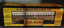 MTH RAIL KING PHILADELPHIA SEPTA PCC ELECTRIC STREET CAR