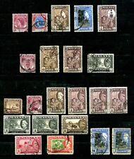 Malaya States stamps, Penang, Perak, Selangor MNH and Used