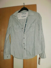 M & S Indigo Cotton Shirt Size 12 BNWT