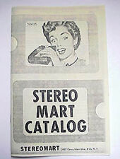 Copy of 1953 Stereo Catalog - STEREO MART pics + prices of vintage 3D equipment