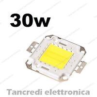 Chip led 30W bianco freddo 950mA 32V 34V alta luminosità lampadina lampada bulb