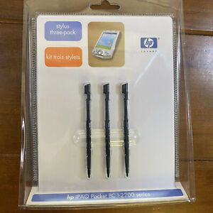 New Sealed HP Stylus 3 Pack iPAQ Pocket PC H2200 Series Hewlett Packard