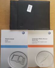 Genuine Vw Sharan Manual Owners Manual descubrir medios PQ 2010-2017 Pack 15748