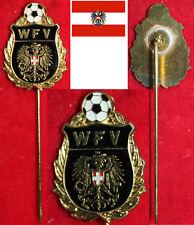 Fußball FOOTBALL EHRENNADEL *GOLD WFV ÖFB ÖSTERREICH WFV Wiener Fußball Verband