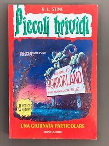 Piccoli Brividi UNA GIORNATA PARTICOLARE # 16 Libro R.L. Stine No Adesivi