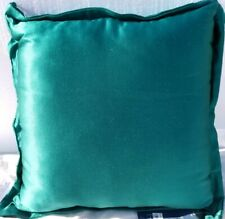 "Hallmart Collectibles 20"" Square Decorative Pillow Solid Flange- Piping Blue"