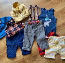 Boys 9-12 Clothes Bundle Little Bird Trousers Braces GAP Shirt M&S
