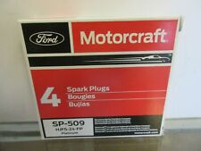 Set of 4 Brand New Genuine Motorcraft Spark Plug SP-509 HJFS-24FP