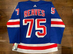 New York Rangers Ryan Reaves Authentic Adidas Adizero Home Jersey Size 54 NWT