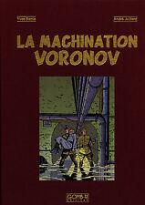 E.P. JACOBS-La Machination Voronov-Edition de luxe toilée-499 exemplaires-NEUF