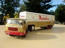 n° 65 BERLIET TR 250 Camion Semi Remorque Biscottes MAGDELEINE 1/43 Neuf Boite