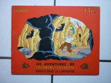 SYLVAIN  ET SYLVETTE  / NUM  63 / PERDUS DANS LE LABYRINTHE / 1963 / EO