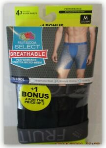 Fruit of the Loom Select Breathable performance micro mesh BOXER BRIEFS MEDIUM