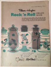Palmer-Hughes Rock 'N Roll Organ Book, For All Spinet Organs 1963