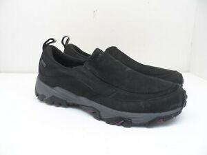 Merrell Women's ColdPack Ice+ Slip On Winter Shoes Black/Purple Size 11M