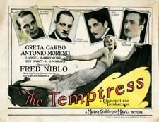 OLD MOVIE PHOTO The Temptress Us Lobby Card Greta Garbo Antonio Moreno
