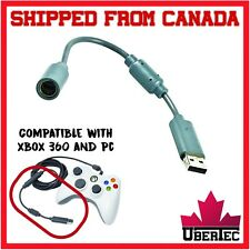 Xbox 360 Breakaway Controller Connector Cable End Wired Controller Adapter USB