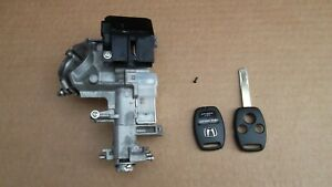 HONDA CR-V MK2 AUTOMATIC FACELIFT 05-06 IGNITION BARREL AND KEY-RECONDITIONED