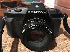 PENTAX P30N obiettivo SMC PENTAX 50 mm