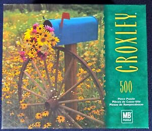 Special Delivery - 500pc. Croxley Jigsaw Puzzle - Milton Bradley - Mailbox