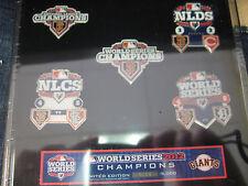 2012 World Series Champs Pin Set - San Francisco Giants
