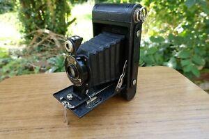 Kodak Folding Hawk-Eye No 2 Model B Camera Anastigmat F6.3 100mm Lens