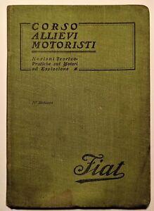 Corso allievi motoristi: Nozioni teoriche-pratiche sui motori ad esplosione 1915
