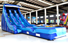 40x15x20 Commercial Inflatable Wave Water Slide n Slip Bounce House Castle Jump