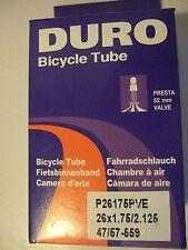 Duro Presta Tubes for Mountain Bike