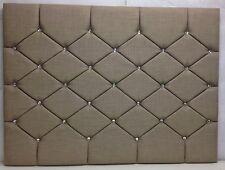 Designer Upholstered Wall Mount Headboard Velvet,Chenille,Linen 3ft,4ft6,5ft,6ft