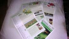 Calendario da parete 2014 FLORA E FAUNA DI CAMPAGNA  foto fauna e flora, ricette