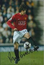 Rodrigo POSSEBON Signed Autograph 12x8 Photo AFTAL COA Manchester United Genuine