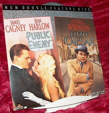 LD Laserdisc PUBLIC ENEMY Cagney/Harlow with LITTLE CAESAR Robinson PRE-CODE