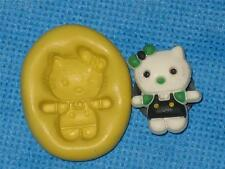 Hello Kitty Push Mold Food Safe Silicone #914 Cake Chocolate Resin Cat Fondant