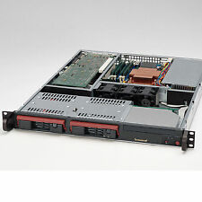 1U HOT-SWAP cse-811t-300b Opteron 185 Double 2.60 Ghz 4GB RAM 2 x 250GB Disque