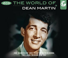The World Of Dean Martin Songs 2 CD 1950s Music